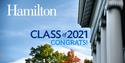 Hamilton College Admission Office welcomes to campus and congratulates the admitted class of 2021; Photo Courtesy of Admission Office