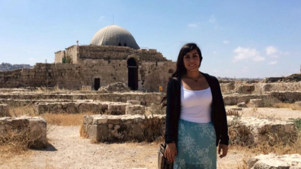 Where in the world is Annel Monsalvo '17