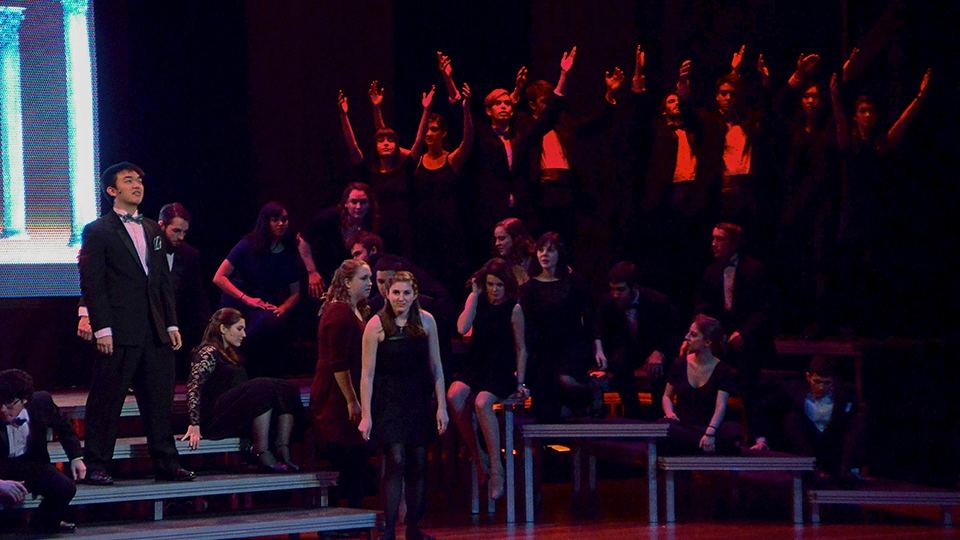 Choir does musical theater legend justice with energetic performance of Sondheim on Sondheim