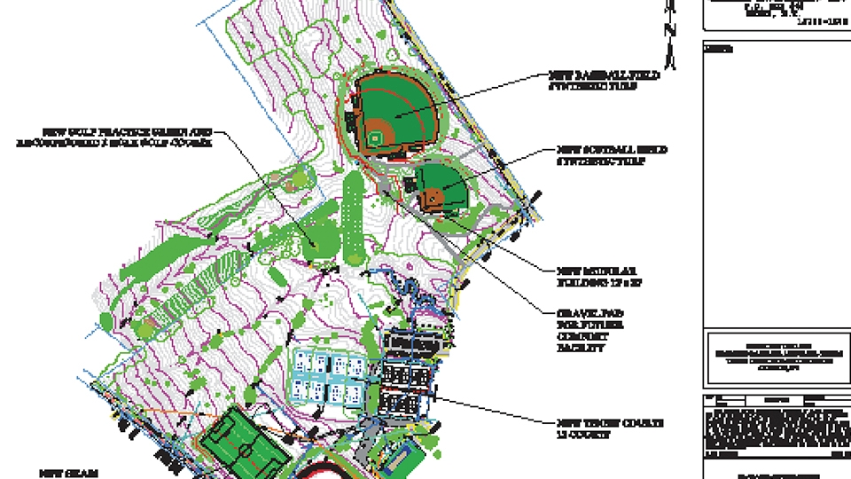 Upcoming summer construction projects include new athletic fields