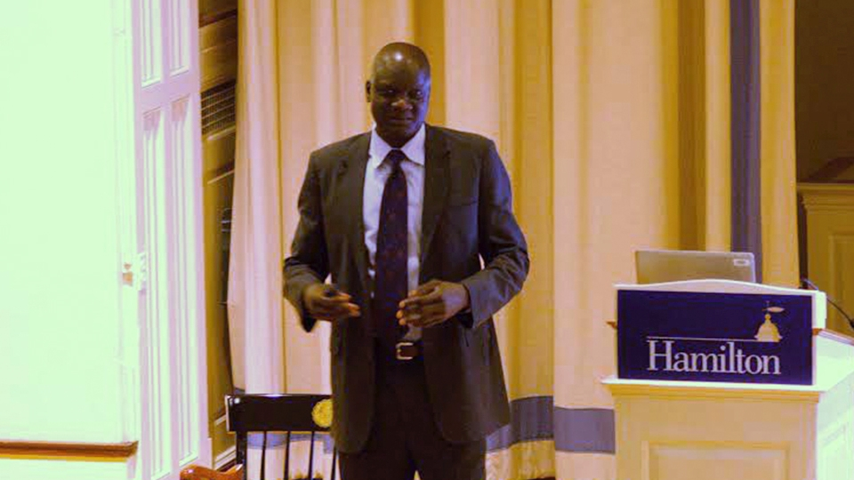 Levitt Speaker Series hosts human rights activist John Dau