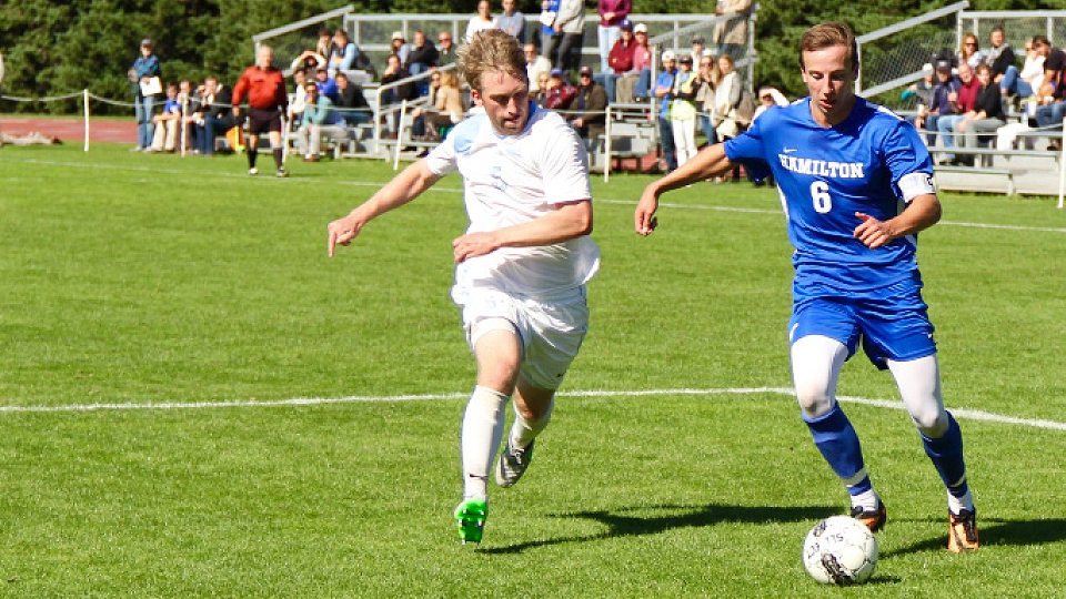 M. soccer scores first win against nationally ranked opponent since 2007