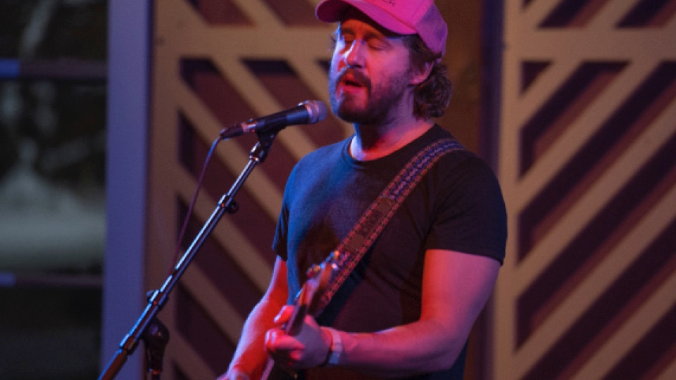 Phosphorescent lights up the barn