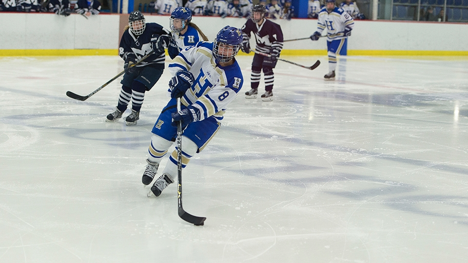 Women's hockey in position to host first-round NESCAC matchup